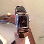 Gucci argento e smalto carica manuale anni 60/70