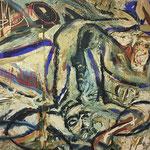 Opera dell'artista statunitense Claude Adrian CAPONNETTO - Tela 2,00x2,00