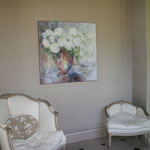Bouquet d'Alexis               Huile sur toile                 100 x 100