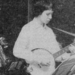 mit Gitarren-Banjo ca.1977