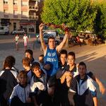 Jamon para Campeones traido por Javier Zorrilla