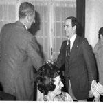 Manuel de la Figuera, primer Presidente del Club y socio fundador (foto año 76)