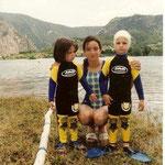 Cristina Asín , Rebeca y David Asín (Pantano Mediano 2002)