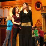 Carmen, Acte 4, en répétition (Stéphanie Pothier, Geneviève Lévesque)