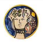 Angelina Guez, assiettes céramique entièrement faites à la main.