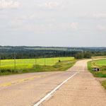 Der Highway 28 war keine schlechte Alternative zum TCT.