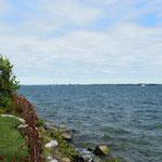 Vom Lake Ontario in den St. Lorenz Strom.