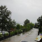 Der Trans Canada Trail vom Feinsten. Nur das Wetter passte nicht.