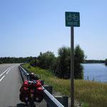 Bike Route und Highway in einem.
