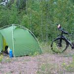 Wildes Campieren.