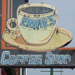 Ernie`s  Frühstück war super.