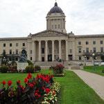 Der Regierungssitz von Manitoba.