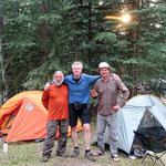 Mike aus den USA (links) und Roland aus Mannheim.