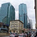 Downtown Edmonton, wie jede andere nordamerikanische Stadt auch.