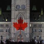 Heute leben alle Kanadier unter dem Symbol des Ahornblattes.