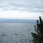 Das östliche Ende des Lake Ontario.