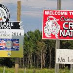 """Durch """"Indianer""""-Land. Hier die Cree-Nation."""