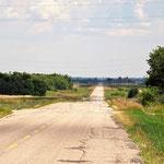 """Eine der typischen """"dreistelligen"""" Straßen, die ich, anstatt des TCT, fuhr."""