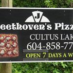 Auch Beethoven mochte schon Pizza