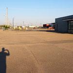 Der sehr gemütliche Bahnhof von Saskatoon.