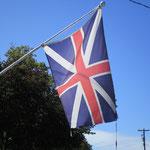 Überzeugung oder Tradition. Viele Loyalisten hissen noch immer den Union Jack.