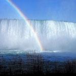 """Der kanadische Wasserfall """"Horseshoe""""."""