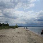 Wasaga Beach. Der angeblich längste Süßwasserstrand der Welt.