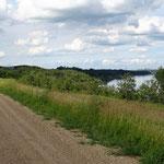 Der TCT verläuft ab Edmonton entlang dem Saskatchewan River. Leider nie am Ufer.