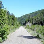 So wollen wir(das Rad und ich) den Trail haben.