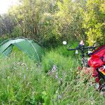 """Manchmal ist mein """"Campingplatz"""" fast ein kleines Versteck."""