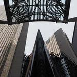 Moderne Architektur im Financial District.