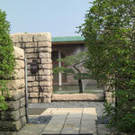 芹沢記念館 型染めのすばらしい作品が見られます。