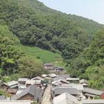 東海道宇津の谷峠の茶屋街
