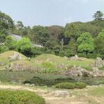 摩訶耶寺 平安時代の庭園