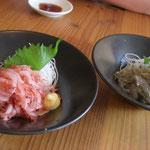 マグロの水揚げは日本一、生しらすと生桜えびも新鮮です。