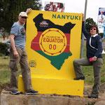 wir überqueren den Äquator