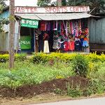 Shop an der Straße