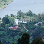 Blick vom Arcadia Cottage