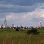 Skyline von Nairobi