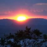 Sonnenaufgang am Viktoriasee