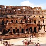 Amphitheater von innen