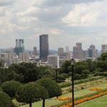 Blick über Pretoria