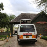 Eingang zum Lake Nakuru NP