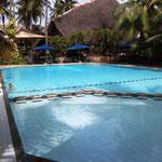unser Pool im Hotel