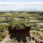 Olduvaischlucht - hier wurden die ältesten Funde der Menschheit gemacht