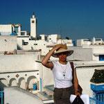 über den Dächern von Sidi bou Said