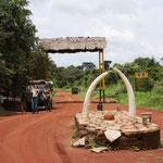 Eingang Murchison Falls NP