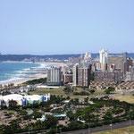 Durban, Blick vom Stadion