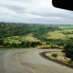 Fahrt durch den großen Graben