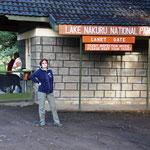 Eingang Lake Nakuru NP